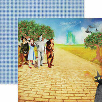 Paper House Productions - Wizard of Oz Collection - 12 x 12 Double Sided Paper - Surrender Dorothy