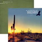 Paper House Productions - Southwest Adventure Collection - 12 x 12 Double Sided Paper - Journey of Discovery