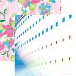 Paper House Productions - Paradise Found Collection - 12 x 12 Double Sided Paper - Starboard