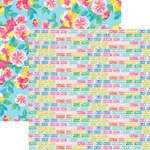 Paper House Productions - Paradise Found Collection - 12 x 12 Double Sided Paper - Ocean Breeze