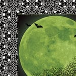 Paper House Productions - Halloween - 12 x 12 Double Sided Paper - Moonlight