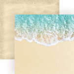 Paper House Productions - 12 x 12 Double Sided Paper - Coastal Waves