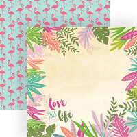 Paper House Productions - 12 x 12 Double Sided Paper - Love This Life