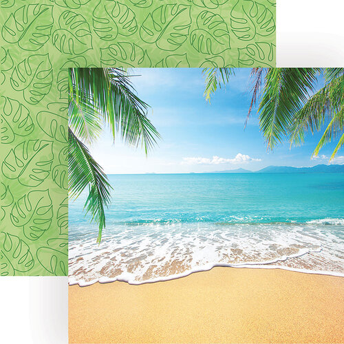 Paper House Productions - 12 x 12 Double Sided Paper - Tropical Beach