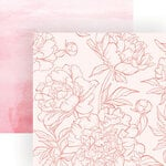 Paper House Productions - 12 x 12 Double Sided Paper - Rose Garden