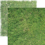 Paper House Productions - 12 x 12 Double Sided Paper - Grass