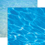 Paper House Productions - 12 x 12 Double Sided Paper - Water