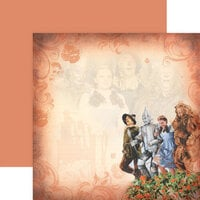 Paper House Productions - Wizard of Oz Collection - 12 x 12 Double Sided Paper - Poppy Field of Oz