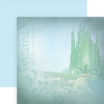 Paper House Productions - Wizard of Oz Collection - 12 x 12 Double Sided Paper - Emerald City