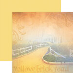 Paper House Productions - Wizard of Oz Collection - 12 x 12 Double Sided Paper - Yellowbrick Road