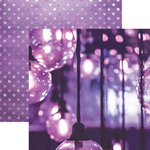 Paper House Productions - Color Ways Collection - Orchid - 12 x 12 Double Sided Paper - Lanterns