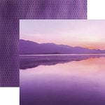 Paper House Productions - Color Ways Collection - Orchid - 12 x 12 Double Sided Paper - Sunrise