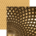 Paper House Productions - Color Ways Collection - Gatsby - 12 x 12 Double Sided Paper - Glamour