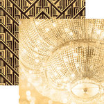 Paper House Productions - Color Ways Collection - Gatsby - 12 x 12 Double Sided Paper - Dazzle