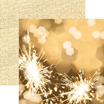 Paper House Productions - Color Ways Collection - Gatsby - 12 x 12 Double Sided Paper - Sparkle