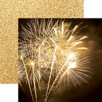 Paper House Productions - Color Ways Collection - Gatsby - 12 x 12 Double Sided Paper - Fireworks