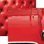 Paper House Productions - Color Ways Collection - Rouge - 12 x 12 Double Sided Paper - Motorcar