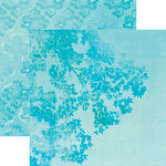 Paper House Productions - Color Ways Collection - Atlantis - 12 x 12 Double Sided Paper - Branch