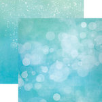 Paper House Productions - Color Ways Collection - Atlantis - 12 x 12 Double Sided Paper - Bokeh