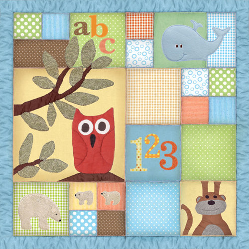 Paper House Productions - Little Man Collection - 12 x 12 Paper - Quilt