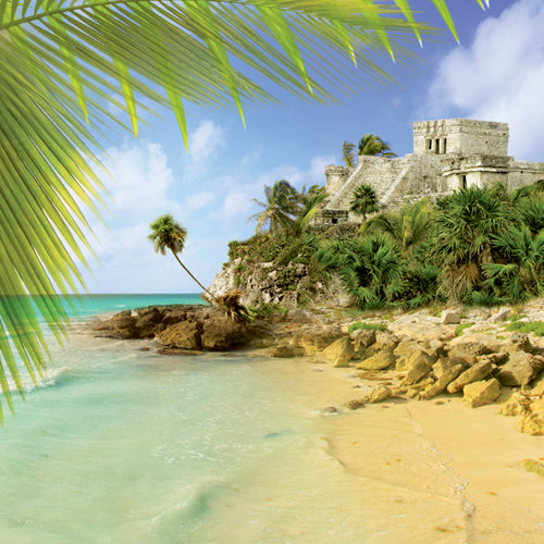 Paper House Productions - Mexico Collection - 12 x 12 Paper - Ruins at Tulum