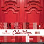 Paper House Productions - Color Ways Collection - Rouge - 12 x 12 Paper Pack