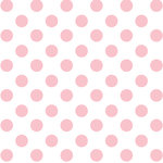 Paper House Productions - Hello Baby Girl Collection - 12 x 12 Acetate Paper - Pink Foil Dots
