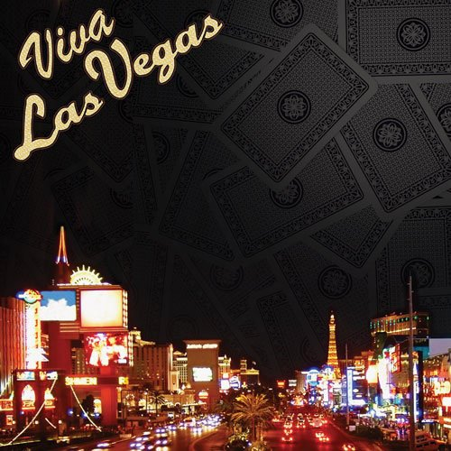 Paper House Productions - Las Vegas Collection - 12 x 12 Paper with Glitter Accents - Viva Las Vegas