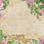 Paper House Productions - Happily Ever After Collection - 12 x 12 Paper with Foil Accents - Happily Every After