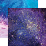 Paper House Productions - Stargazer Collection - 12 x 12 Double Sided Paper with Foil Accents - Stargazer