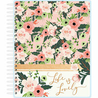 Paper House Productions - Planner - Blush and Greenery - 18 Month - Undated