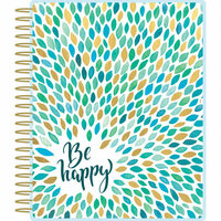 Paper House Productions - Planner - Be Happy - Mandala - 18 Month - Undated