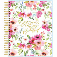 Paper House Productions - Planner - Watercolor Floral - 12 Month - Undated