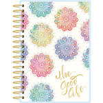 Paper House Productions - Planner - Mini - Watercolor Mandala - 18 Month - Undated
