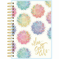 Paper House Productions - Planner - Mini - Watercolor Mandala - 12 Month - Undated