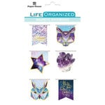 Paper House Productions - Life Organized Collection - Magnetic Bookmarks - Stargazer