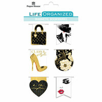 Paper House Productions - Life Organized Collection - Magnetic Bookmarks - Fifth Avenue