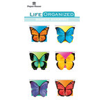 Paper House Productions - Life Organized Collection - Magnetic Bookmarks - Butterflies