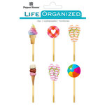 Paper House Productions - Life Organized Collection - Epoxy Clips - Summer Fun