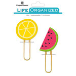 Paper House Productions - Life Organized Collection - Puffy Clips - Summer Fun
