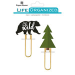 Paper House Productions - Life Organized Collection - Puffy Clips - Outdoors