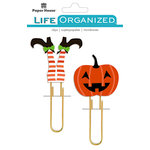 Paper House Productions - Life Organized Collection - Puffy Clips - Halloween