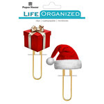 Paper House Productions - Life Organized Collection - Puffy Clips - Christmas
