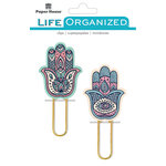 Paper House Productions - Life Organized Collection - Puffy Clips - Hamsas