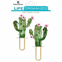 Paper House Productions - Life Organized Collection - Puffy Clips - Cacti