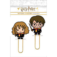 Paper House Productions - Harry Potter Collection - Harry and Hermione Puffy Clip