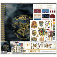 Paper House Productions - Life Organized Collection - Planner Set - Harry Potter - 12 Month - Undated