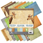 12 x 12 Paper Pad - Wild Thing by Paper House Productions