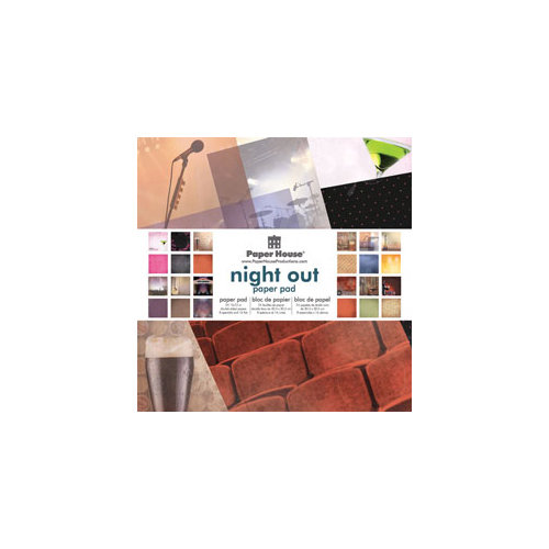 Paper House Productions - 12 x 12 Paper Pad - Night Out