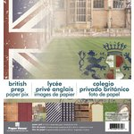 Paper House Productions - 12 x 12 Paper Pad - British Prep